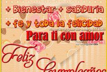 Birthday!! Cumpleaños, aniversario! / by Yttel Narud