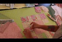 Victorian Modern Quilt Along / @CraftyGemini hosts a video quilt along featuring Andover Fabrics Victorian Modern fabric line.  Follow along with clear and easy-to-follow step by step video instructions for completing an entire quilt. Great beginner project easy enough for even a total newbie to join in on the fun!