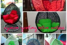 rattan hanging chair, for order WA +628122768412