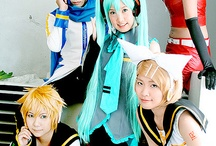 Vocaloid/UTAUloid Cosplay / by Draculaura