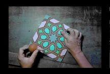 Vídeos / Vídeos en los que mostramos cómo pintamos cerámica