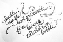 typography / by Nessie Sharpe