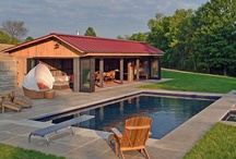 Pool house remodel / by Elaine Morton