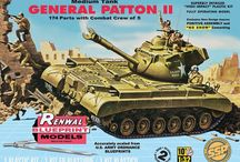 Military / Military related aircraft, tanks, missiles, plastic model kits FROM REVELL.