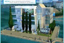 My The Sims 4 CC Houses