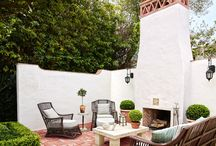 White Fireplace Inspiration / Beautiful White Fireplace Inspiration