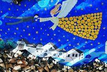 Cataste di Legna di #Mezzano un dei borghi più belli d'Italia #trentino