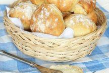 bröd, frukost å fika