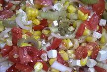 Salads / 80-90% raw