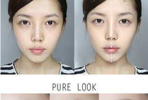 корейские макияжики