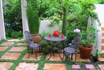 Small Outdoor Living
