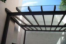 techo patio invierno