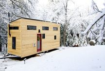 tiny homes / by Ceana Contreras