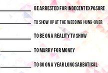 Bridesmaid Things
