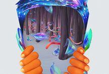 illlustratins of Weird, Yet Cool Motives / inspirations of weird and cool stuff