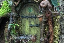 Elfen, Feen, Elves, Fairies, Pixies, das Volk der kleinen Leute