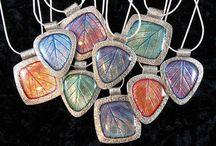 Glass everything - glass paints, glass jewelry. Glass.
