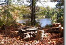 Vermont Backcountry Camping / A wish list of backcountry places in Vermont. Have we missed any? Let us know at info@BushSmarts.com
