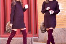 Winter pregnant style