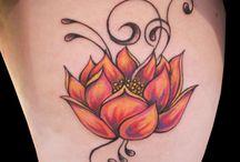 lotus dövme