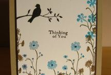 Cards - Silhouette Sentiments