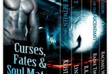Curses, Fates & Soul Mates / Curses, Mates & Soul Mates: 5 Paranormal New Adult Novels by bestselling authors Kristie Cook, Lynn Rush, R.K. Ryals, Raine Thomas & Rachael Wade / by Kristie Cook