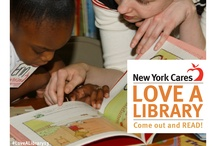 'Love a Library' Day! 2013 @ the 125th Street Branch Library / Join us on Saturday, June 8th for the second Love a Library Day. We will be working with 36 library branches across all five boroughs to inspire people to visit their local branch.  From 10 a.m. to 4 p.m., volunteers will spread the word about libraries, organize books, register people for new library cards, enroll children in the summer reading program, and lead children's literacy and craft projects.