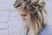Hair styles and braids