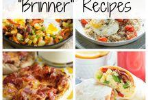 Breakfast for dinner / Recipes that highlight breakfast foods for dinner