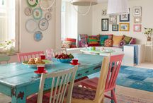 Cheery home / Colourful and funny interiors
