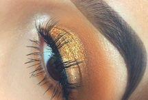 make-up, face