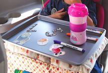 Onderweg met kinderen / Ideeen tijdens lange autorit of vliegreis