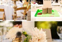 Table center ideas / by Deanna Lowe