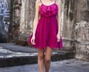 Party frocks  / Hot pink dress