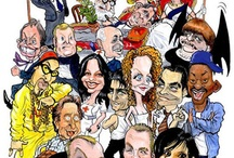 CARICATURES of everyone and everything / Politicians, athletes, celebrities - anyone and everyone can be made into a caricature. / by Lisa Clesner