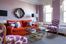Tangerine and Violet