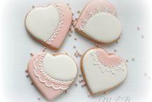 Icing cookies Valentine / アイシングクッキーバレンタイン