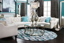 New living/dining area / by Stacy DiCanio