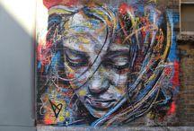 Street Art / El término arte urbano o arte callejero, traducción de la expresión inglesa street art, hace referencia a todo el arte de la calle, frecuentemente ilegal. El arte urbano engloba tanto al grafiti como a diversas otras formas de expresión artística callejera.