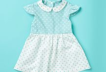 Poppy & Jazz Sewing Patterns for Babies