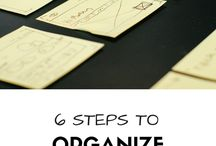 Tips for a better organization