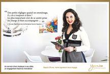 Témoignages / Yasmine Signature, des engagements et des valeurs. Nos clients témoignent...