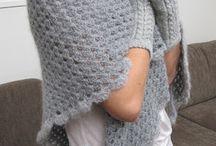 Crochet - Shawl w/Pattern *
