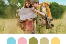 film Wes Anderson / fargepalett