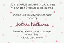 Baby shower / by Candice Ortiz