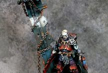 40k miniatures / by Charles Vale