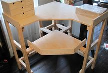 Jewelers Bench & Workspace / For the metal clay artist, how to create the right workspace. / by Metal Clay Now