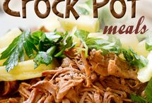 food:  crock pot
