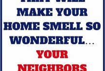 smelling home