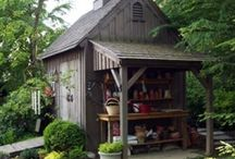 Shed ideas / by Carrie Jester